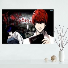 DEATH NOTE Canvas Poster Custom Canvas Painting Poster print cloth fabric wall art poster(China)