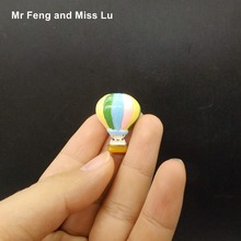 Resin Flat Back Resin Fire Balloon Model Toy Miniature Game(China)