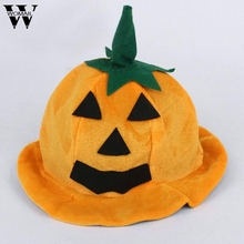 Cos Halloween Props Pumpkin hat Pumpkin Orange Hats