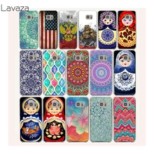 Lavaza 19af Mandala Palace Russian dolls Hard Transparent Case Cover for Samsung Galaxy S3 S4 S5 Mini S6 S7 S8 Edge Plus Case(China)