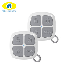 Golden Security 2ps 433Mhz Remote Control Alarm Key Fob G90E G90B Security Wifi Home Alarm System Alarm Accessories Remote