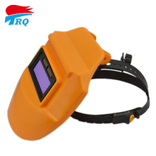 Solar battery Auto Darkening Welding Helmet Lens Welding Filter Welding Equipment TIG MIG MMA Arc Orange 90*32mm Mask Grinding