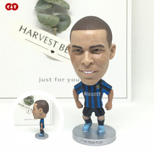 Soccerwe dolls figurine football player 9# Ronaldo IM classic Movable joints resin model toy action figure  collectible gift