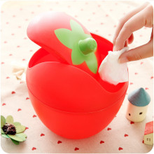 Trash Creative Small Plastic Trash Lid Shake Mini Fashion Storage Box Multi-function Cute Desktop Storage Boxes
