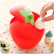 Trash Creative Small Plastic Trash Lid Shake Mini Fashion Storage Box Multi-function Cute Desktop Storage Boxes(China)
