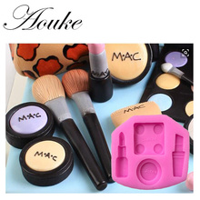 Aouke 1PCS Makeup tool Shape,3D Silicone Fondant Cake Mold. For Cake Decorating, Jelly, Chocolate, Soap Modeling X120
