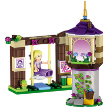 148Pcs 37000 Rapunzel's Best Day Ever Building Bricks Princess Building Block Girls Set Compatible With Lepin Toys