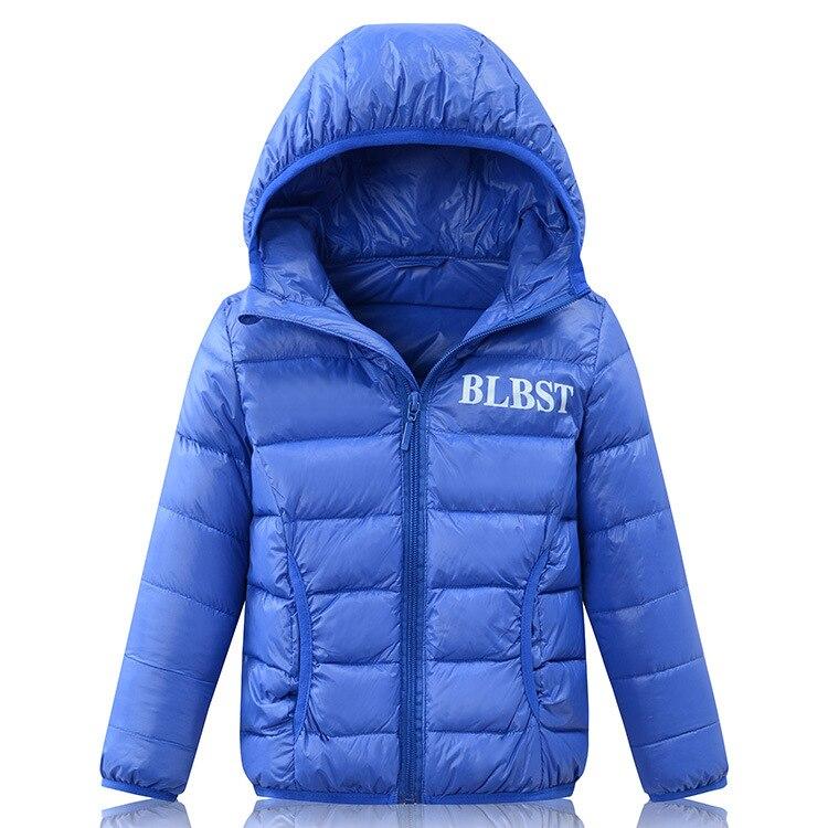 90% Duck Down Jacket 2017 Winter New Ultra light Boys Warm Hooded Down Coats For Girls 2-16Y Down OuterwearÎäåæäà è àêñåññóàðû<br><br>