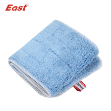 East Microfiber Cloth for Trapezoid Flat Telescopic Mop home floor kitchen living room cleaning tools(China)