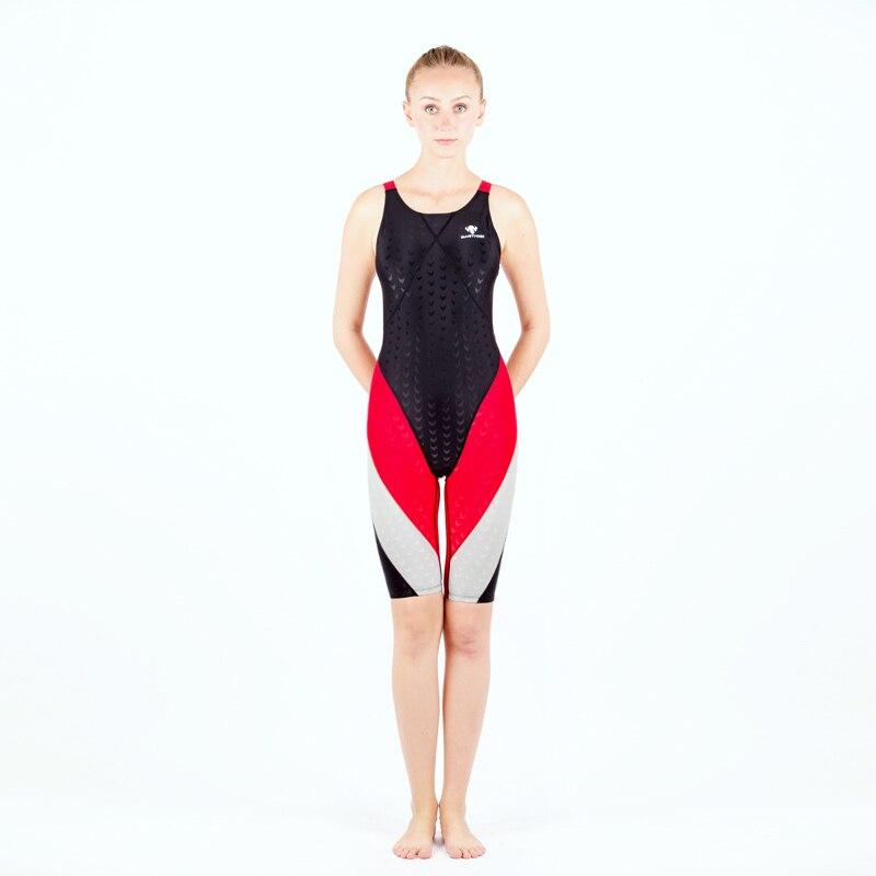 Shark Skin One piece Swimsuit Plus Size Swimwear Women 2017 Swim Suit Competition Bathing Suit Bodysuit Surfing Suits Wetsuit<br>
