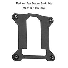 PC Computer CPU Fan Bracket Heatsink Radiator Backplane Motherboard Base Cooling Fan Holder for Intel 1150 1155 1156(China)