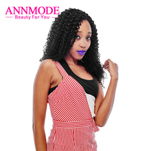 Annmode Mongolian Afo Kinky Curly Hair A Pcs Free Shipping Natural Color Non-remy Human Hair Can Buy 1/2/3/4/5/6/7/ Bundles etc