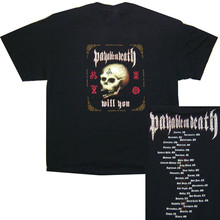 PAYABLE ON DEATH P.O.D. WILL YOU TOUR BLACK T-SHIRT NEW GIANT american t shirt