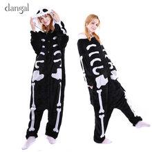 Kigurumi Skeleton Costume Funny Costume Funny Costumes Adults Skeleton  Pajamas Adult Skeleton Onesie Women Pajamas Skull Fleece e048c076b