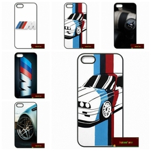 Awesome Fashion For BMW M3 M4 M5 Phone Cases Cover For iPhone 4 4S 5 5S 5C SE 6 6S 7 Plus 4.7 5.5 U046(China)