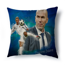 2017 Hot sell Madrid real betis decorative cushion cover for sofa car living room MU Football The home decor pillowcase 45x45cm