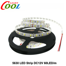 5630 LED Strip DC12V Flexible LED Light 60LED/m 5m/lot High Quality 5630 LED Strip.