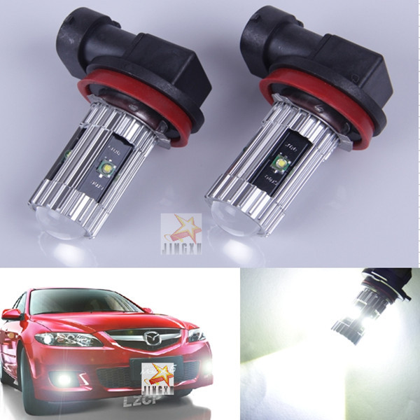 2 x For Mazda CX-7 2007-2010    Etc  H11 High Power CREE CHIPS   25W Car special front fog lamps LED Fog Lights lamps Bulb<br><br>Aliexpress