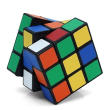 Puzzle Hand Spinner Brain Intelligence Games Magic Cube 3x3x3 Stress Cube Learning & Education Toy for Kids Rubik's Cube