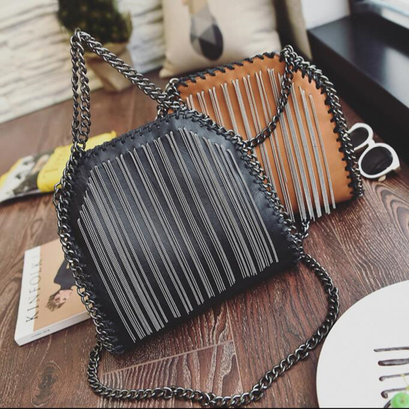 COOL WALKER Brand Fashion Women Bag Chain Crossbody Bag Brand Designer Messenger Bag Cute flap shoulder Bag Retro Handbags<br>