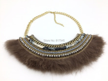 Wholesale 2016 new fashion jewelry hand make Leopard necklace wholesale Boho style collier femme statement Necklace