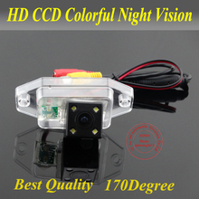For Toyota Prado/Land Cruiser Car rear view Camera back up reverse for GPS DVBT radio waterproof fully NTSC form
