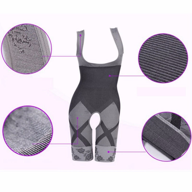 2016-Women-s-High-Quality-Slim-Corset-Slimming-Suits-Body-Shaper-Charcoal-Sculpting-Underwear-6-Size (3)