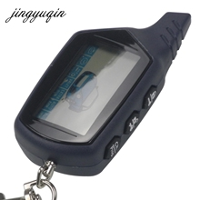jingyuqin Russian Version for StarLine B9 Twage LCD Remote keychain Fob Car Remote 2-Way Vehicle Alarm System /Ch. Prog. +gift(China)