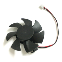 Diameter 45mm Video Card VGA Cooling Fan For MSI N730K-1GD5 LP/OC GT730 graphics card video cards Cooler(China)