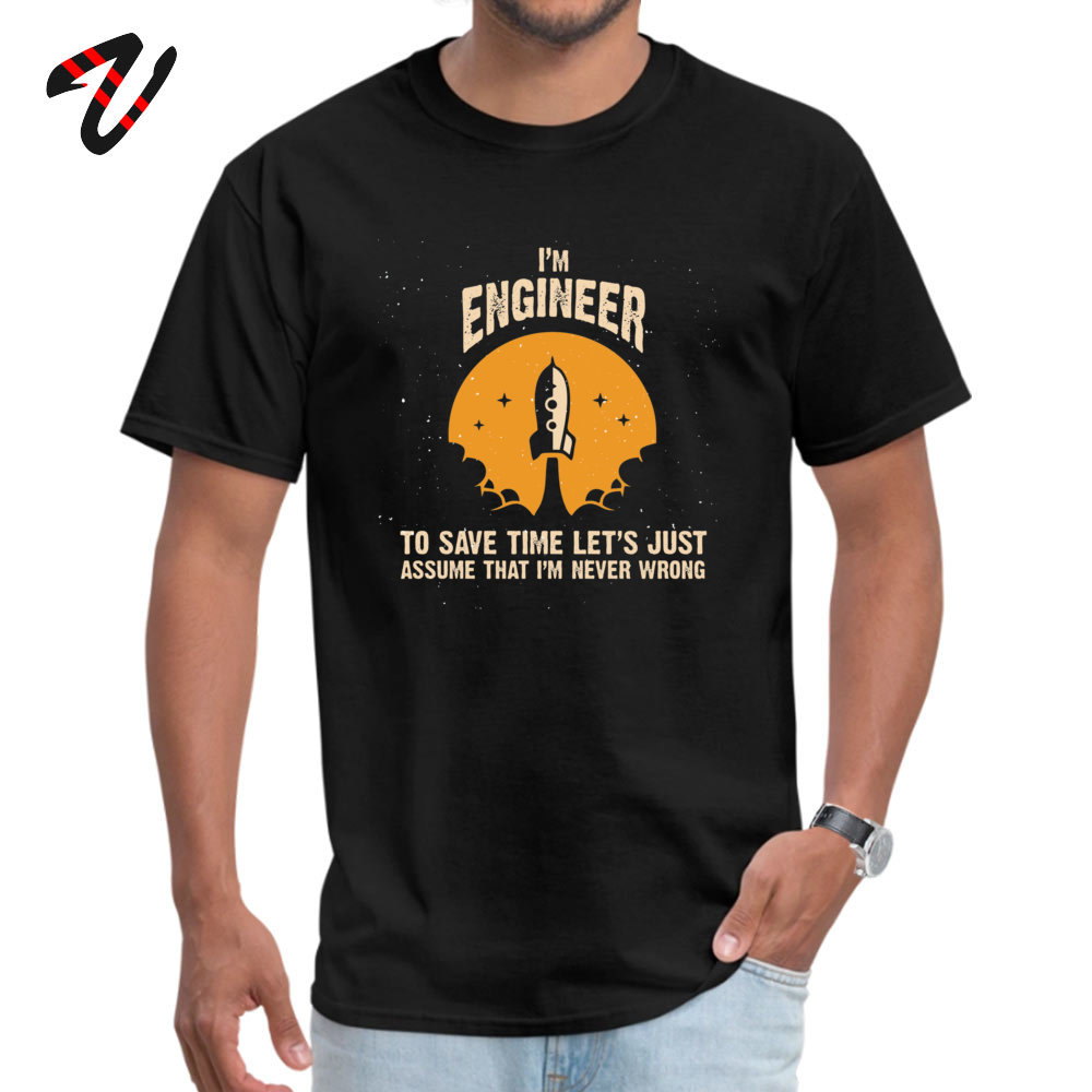 Im ENGINEER Plain Youth Top T-shirts O-Neck Short Sleeve Cotton Fabric Tops T Shirt Unique Tops Shirt Wholesale Im ENGINEER 10652 black