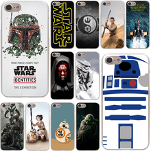 YODA  star wars and bb8 Hard Case Transparent for iPhone 7 7 Plus 6 6s Plus 5 5S SE 5C 4 4S