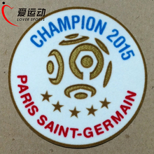 2015 PSG League 1 champion patch 5 star champion soccer patch PSG 2015-2016 soccer patch(China)
