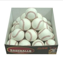 "Whole Sale 120pcs/lot High Quality Hand Made 9"" Soft Leather Sport Game Practice Trainning Base Ball Softball Cheapest"
