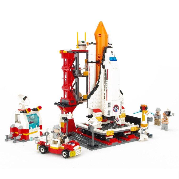 GUDI City Aviation Aircraft Launch Center Spacecraft Building Blocks Sets Bricks Model Kids Toys For Children Compatible Legoe<br>