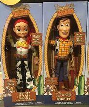 44 cm juguete historia 3 hablando Jessie Woody de acción de PVC figuras de juguete  modelo de juguetes para los niños muñeca para. 112babdff8a