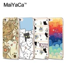 MaiYaCa Latest fashion Lovely Soft Transparent TPU Phone Case Accessories Cover For iPhone 6 6s case(China)