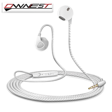 OWNEST 5 Color Earphone For iPhone 6 6S 5 5S Headphone With Microphone 3.5mm Jack Bass Headset For Xiaomi sony Sport Headphones