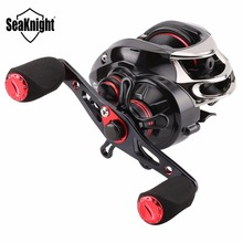 SeaKnight VIPER HG Baitcasting Fishing Reel 6.3:1 7.0:1 12 Bearings 210g Double Brake System Bait Casting Fishing Reel 7.5K Drag