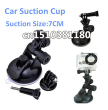 10pcs Mini Camcorder Car sucker holder mount Tripod SJ4000 Gopro HD Hero3 Hero2 3+Gopro accessories SJ4000 accessories wholesale