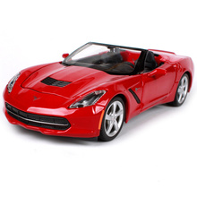 Maisto 1:24 2014 Corvettes STINGRAY Diecast Model Car Toy New In Box Free Shipping 31501(China)