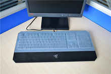 Transparent Clear Silicone Keyboard Skin Covers guard ForRazer DeathStalker Chroma Membrane Gaming Keyboard