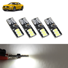 4x Super Bright Car Led Light Bulbs Package Kit For Ford Mustang 15-17 Trunk Glove Box Map Lights 5630-SMD Plug-N-Play