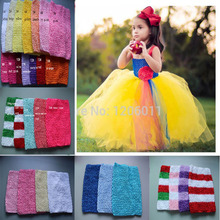 Wholesale 20*23cm Crochet tube top tutu top kids girl crochet pettiskirt tutu top crochet headbands Free Shipping 45pcs/lot