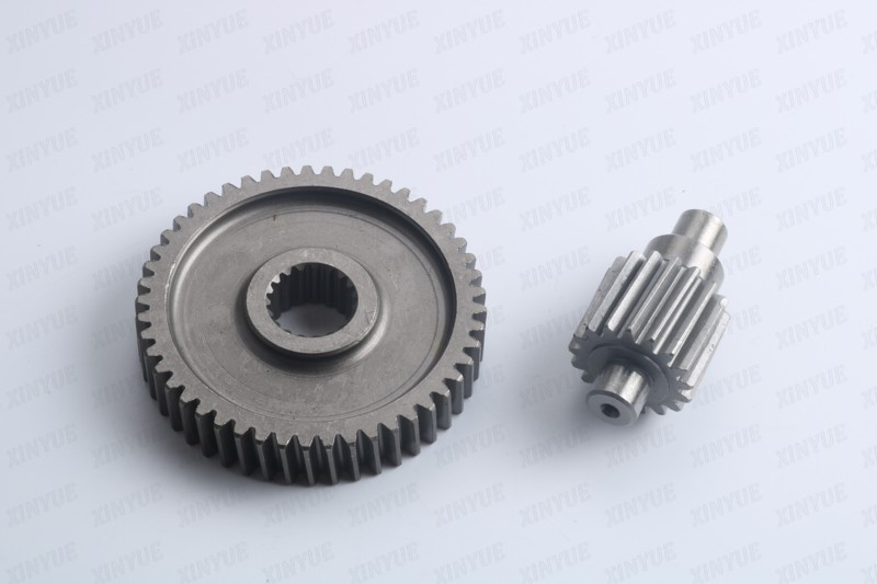 49-17t Performance Final Drive Gear GY6 50cc 139QMB Chinese Scooters Engine Spare parts(China (Mainland))