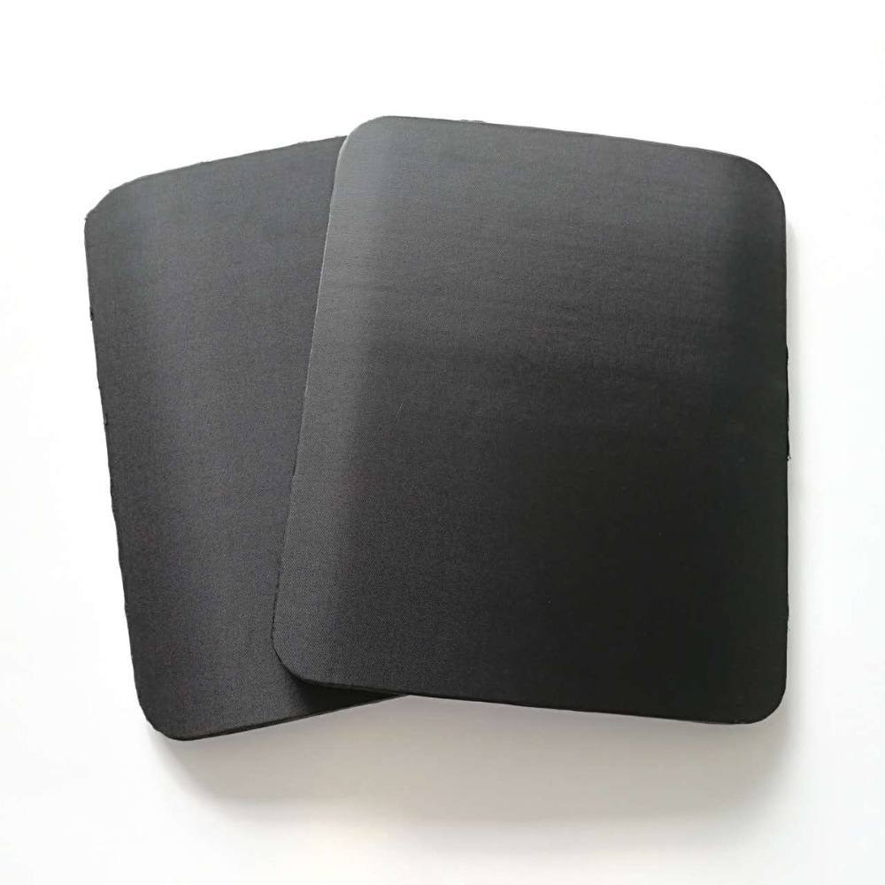 2pcs/Lot NIJ level IIIA Bullet Proof Steel Plate Light Bulletproof Plate Tactical Steel Bulletproof Plate Chest Insert<br>