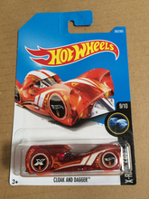 New Arrivals 2018 8a Hot Wheels 1:64 red cloak and dagger Car Models Collection Kids Toys Vehicle For Children(China)