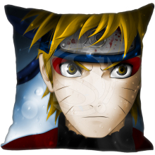 Hot Naruto Uzumaki Anime Character Style throw Pillowcase Custom  Twin SidesHome Car Cushion Cover