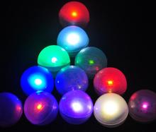 300pcs/lot Free Shipping Fairy LED Pearls Wedding Decoration 2CM Mini Colorful Small Led Berries Waterproof Floating LED Lights