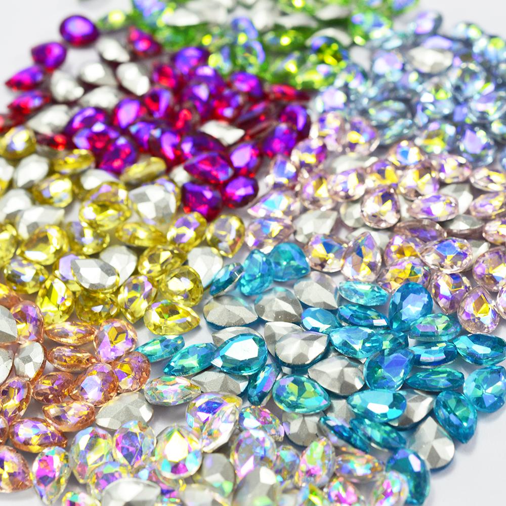 Nail Rhinestones Crystal