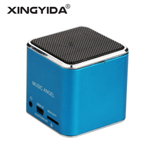 XINGYIDA Portable Mini Speakers Music Angel Speaker caixa de som Altavoz Stereo MP3 Boombox Support SD TF FM Radio for Phones